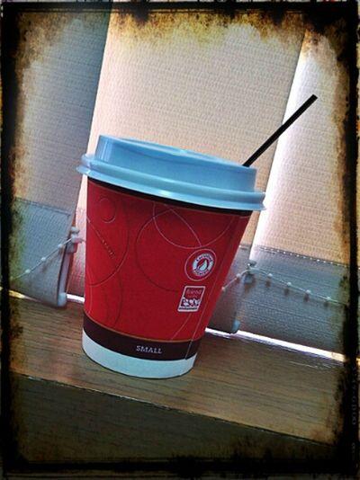 """Coffee Time"" Relaxing Portrait Enjoying Life"