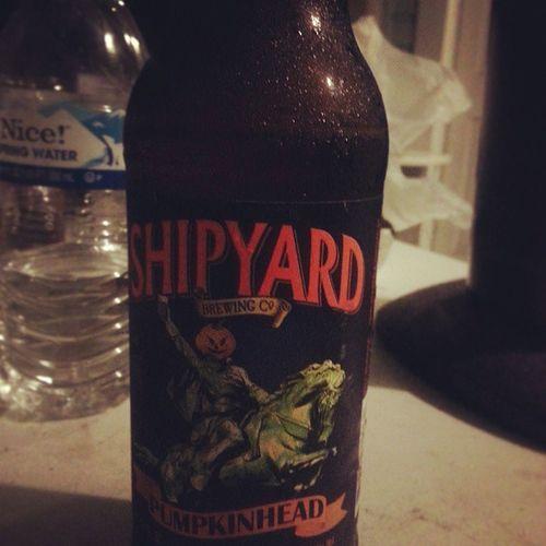 Fall is here! Shipyardbeer Pumpkinhead Floridaissweatyandhot