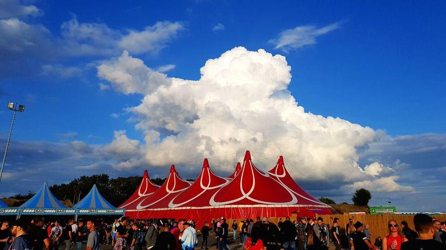 Tent Cloud -