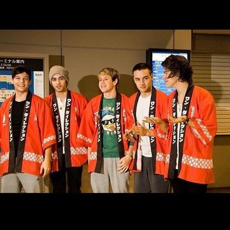 The boys in tokyo on january 16th
