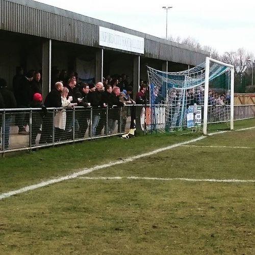 Wealdstone fans at oxford city Wealdstone Oxfordcity Oxford NationalLeague