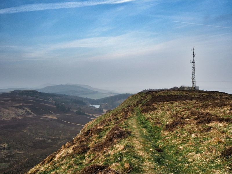 Beauty In Nature Day Dundee Landscape Lundie Crags Mountain Nature No People Outdoors Scottishrowan Sky Tower