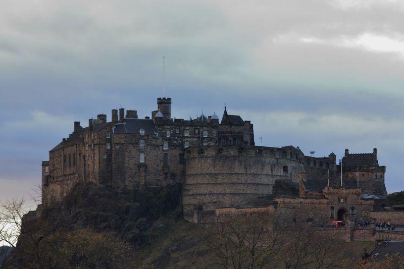 Castillo Edimburgo Travel Destinations Travel Escocia Architecture Castillo Castle