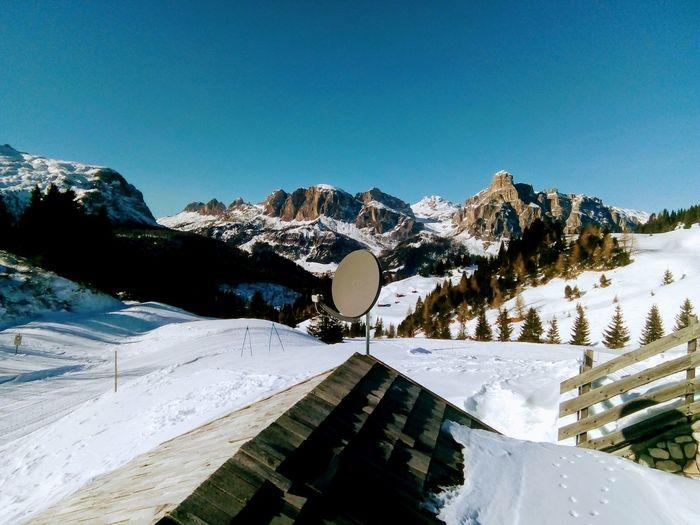 Montagne delle Dolomiti (6) Dolomites, Italy Skiing Snow Mountain Winter Cold Temperature Sky Landscape Tranquility