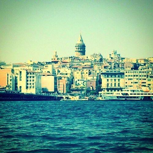 Galatatower Galatakulesi Eminönü Deniz marmara nature sea manzara istanbul