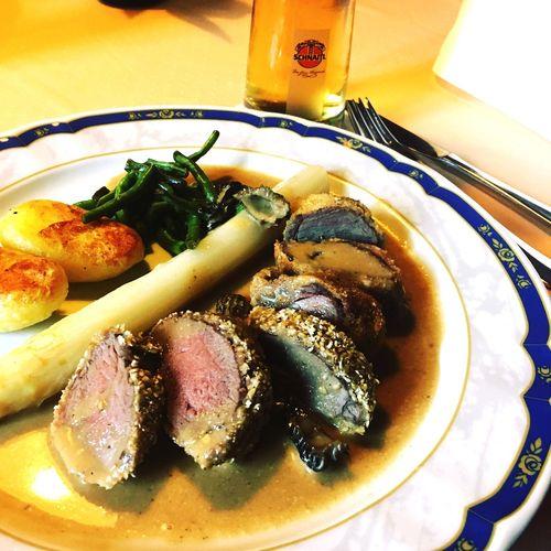 Rehrücken Spargel Food Austria