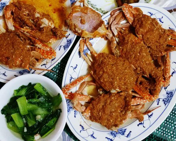 Chilli Crab So Hot Delucious Foodporn Yummy Yummy Happy Tummy Vscocam