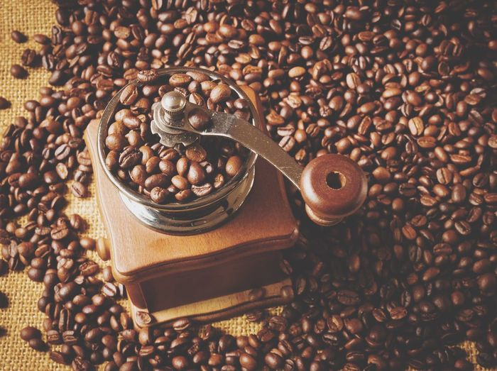 Coffee grinder Roasted Coffee Bean Food And Drink Coffee Bean Abundance Bean Coffee - Drink Brown Roasted Food Indoors  Raw Food Raw Coffee Bean No People Sack Freshness Legume Family Close-up Day