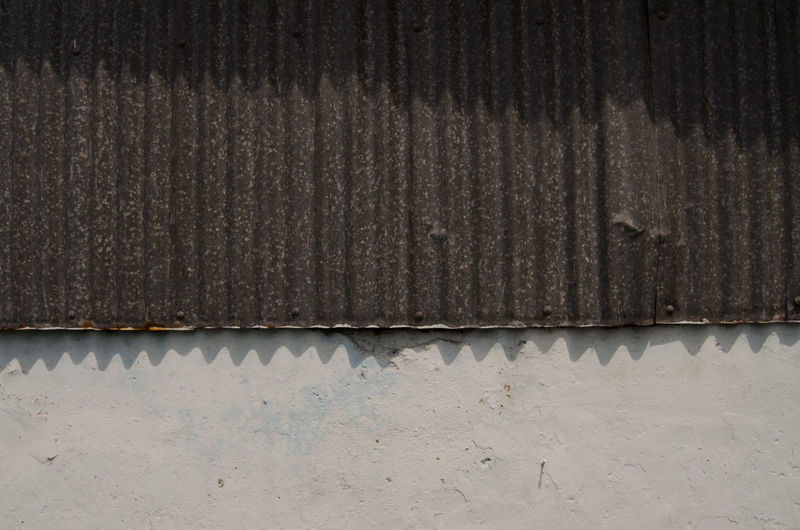 Architecture Backgrounds Building Building Exterior Built Structure Close-up Corrugated Corrugated Iron Day Full Frame Industry Iron Metal No People Outdoors Pattern Roof Roof Tile Rusty Sheet Metal Textured  Wall - Building Feature