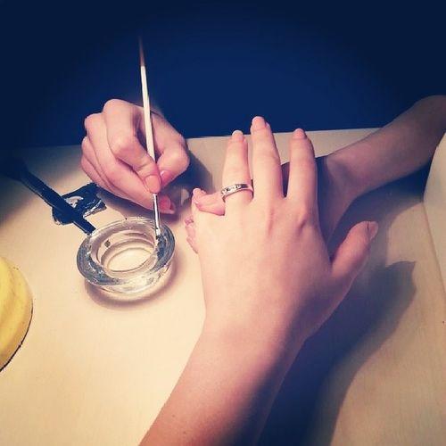 маникюр  ногти  гель  вожидании