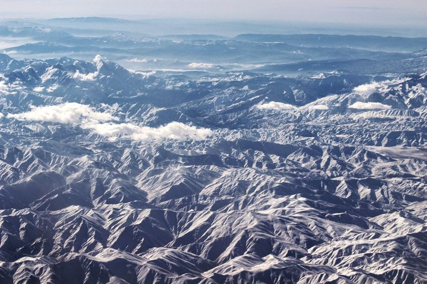 From An Airplane Window Traveling Taking Photos On The Plane Mountain View Mountain_collection Mountains Sky Collection Enjoying Life Holidays Flying High