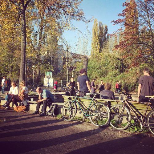 Boule and beer in Berlin Berlin Berlinstagram