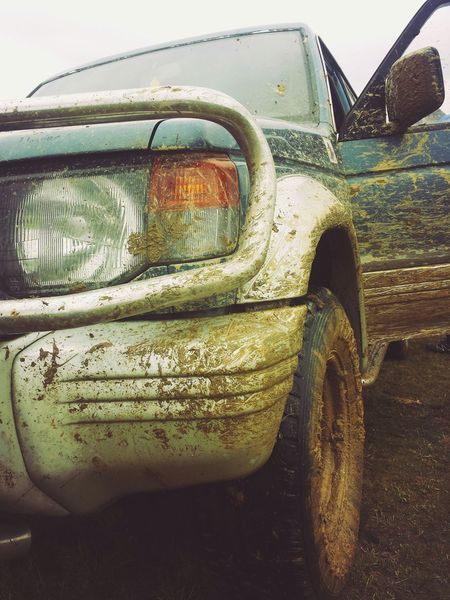Mudd Offroad Mitsubishi Pajero The Photojournalist - 2017 EyeEm Awards