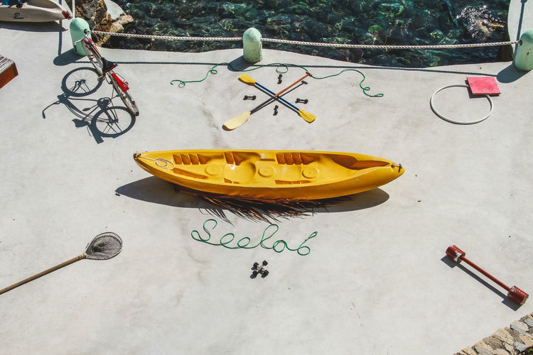 Hotels Lifestyle Paint The Town Yellow StillLifePhotography Art Beach Conceptual Conceptual Photography  Day No People Outdoors Skateboard Park Still Life