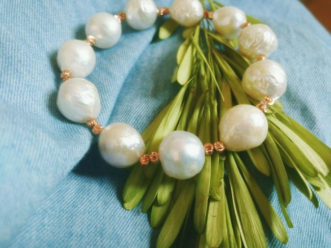 Day Hi! Hi Ordinary Day Enjoying Life Lovely Pearls Pearls❤ Pearly Whites Pearl Bracelet Jewellery Jewellery💎