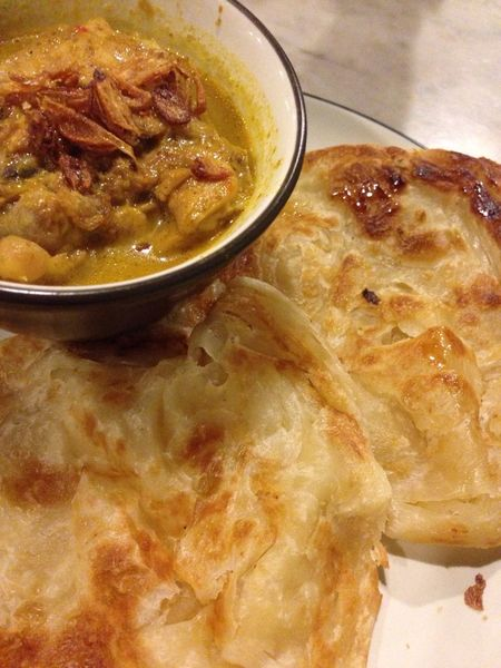 Chicken Curry Prata - turned out to be delicious Food And Beverages