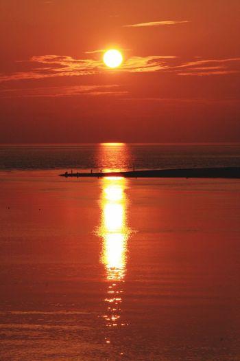 新屋 海 Sunset