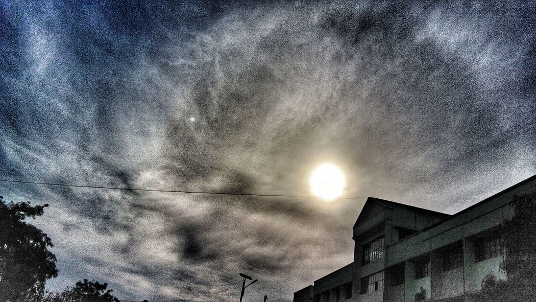 Dramatic sky.. Sky Tree Low Angle View No People Beauty In Nature Nature Outdoors Astronomy Day Landscape_Collection Picoftheday Scenics Landscape Our Best Pics Eyeemvision Mobile Photography Architecture Snapseed Editing
