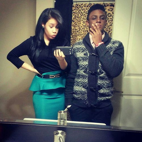 New Years With The Boo.