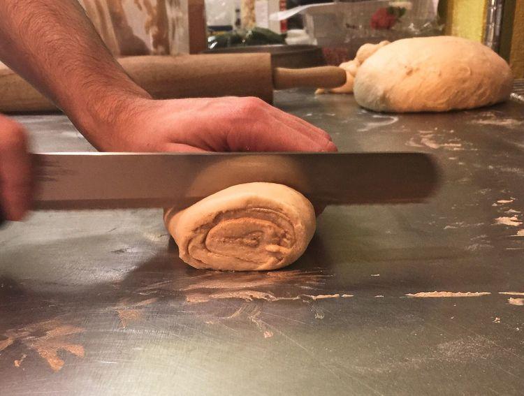 Baking some Cinnamon Rolls ❤️ Vegan I Love Baking