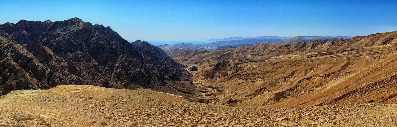 On Top Of A Mountain Mt Shlomo Eilat Israel Transformation GalaxyS5
