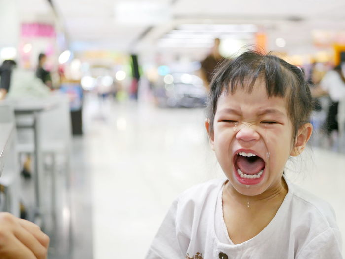 A sudden uncontrollable burst of crying of an Asian baby girl in a shopping mall - baby behavior Asian  Bursa EQ EyeEmNewHere Baby Child Child Childhood Close Up Crying Emotion Emotional EQ Expression Facial Expression Frustration Girl Intelligence Kid Mall Shopping Mall Sudden Suddenly Toddler  Uncontrolable