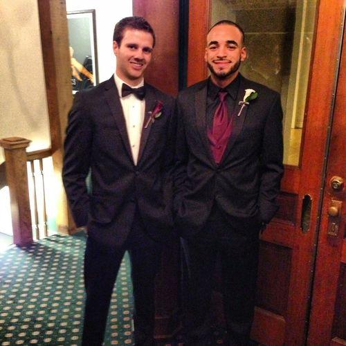 Wedding Suit & Tie My Brother  Enjoying Life