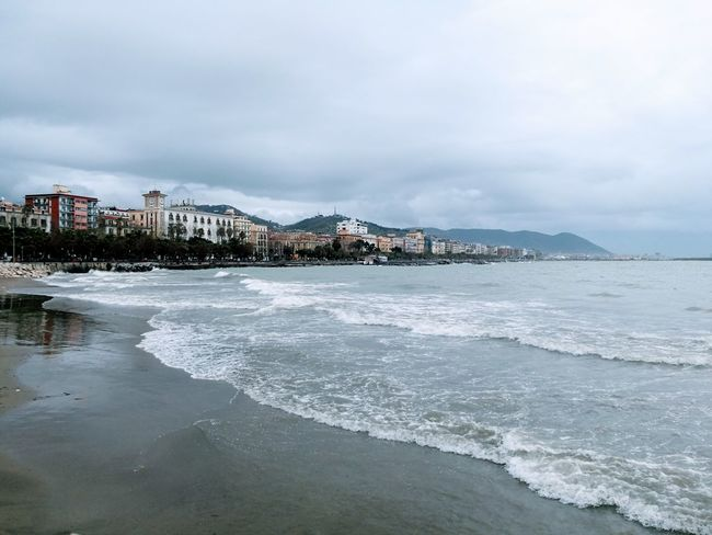 Salerno Salerno Italy Salernocity Salerno♡ Salerno Cityscape Water Sea Beach Harbor Mountain Water's Edge City Point Of View Town TOWNSCAPE Seascape