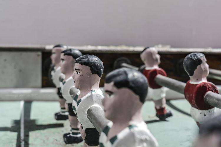 Close-up of figurine