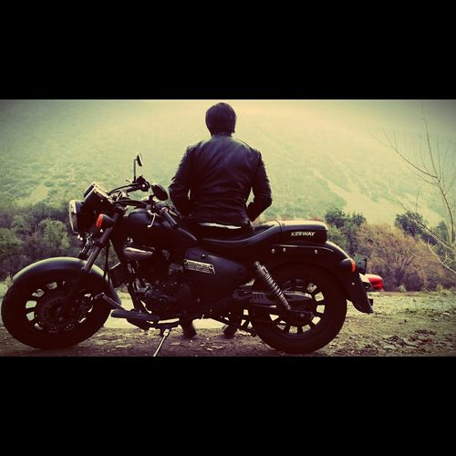 The Stillness with my Motorcycle is Incredibly Amazing