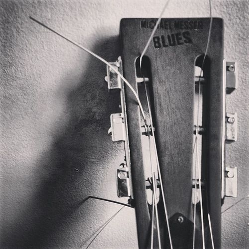 Guitar Resonator Music Blackandwhite fortheloveofblackandwhite