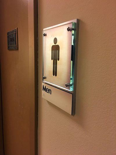 Men's Room Men's Room Sign Sign