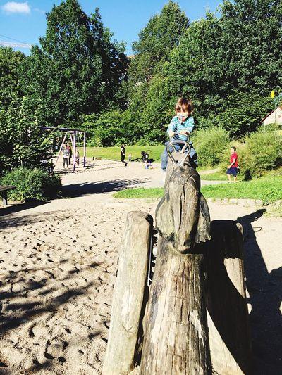 High up Hoch Oben Playground
