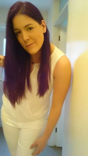 That's Me Hello World Smile❤ Selfie ✌ Hope.✌ But First Let Me Take A Selfie Goingchurch Christening Godmummy Purple Hair