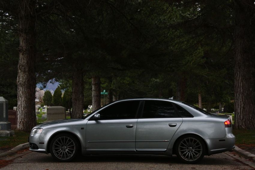 German Engineering Outdoors Audi A4 Quattro Audilove Audib7 Audia4 Audi Cemetery_shots Cemetery Photography Gravestones