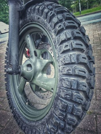 Treading new paths Front Wheel Motorcycle Photography Motorcycle Tyers Tire Tread Motorcycleporn Yamaha Xj Off Road Bobba Bike Tire Wheel Land Vehicle Close-up Vehicle Vehicle Part Spoke The Great Outdoors - 2018 EyeEm Awards