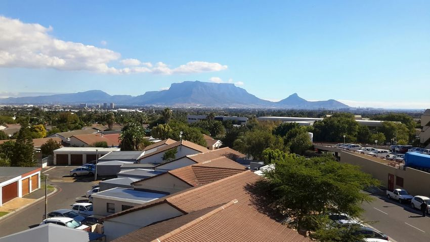 Table Mountain as seen from the Tygerberg hills Nature From The Rooftop Cape_town Capture The Moment Through My Lens Tablemountain