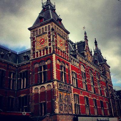 東京駅のモデルなんだって。Amsterdam Iaminamsterdam Amsterdamcentraal