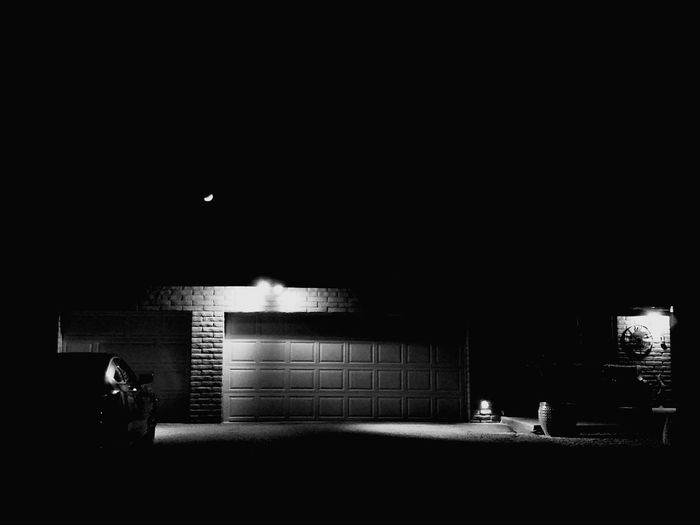 Break The Mold Night Illuminated Dark Architecture No People Built Structure Black And White Art Is Everywhere Simple Art Art Of The Night Front Porch Photography Front Porch Pitch Black Night Photography Black Out The Architect - 2017 EyeEm Awards Black And White Friday The Architect - 2018 EyeEm Awards
