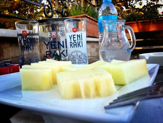 Turkish Raki Drinking Relaxing Perfect Day