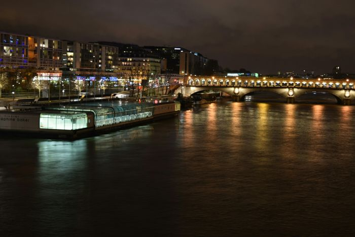 Jan 2015 Bibliothequefrançoismiterrand Passerelle Simone De Beauvoir Paris Paris By Night France Cityview