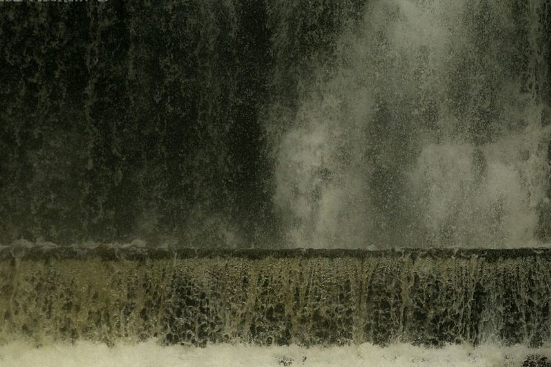 Thundering Noise Waterfall Entwistle Reservoir Noisy old Entwistle falls.