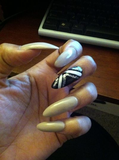 Went And Got My Nails Dne Today.
