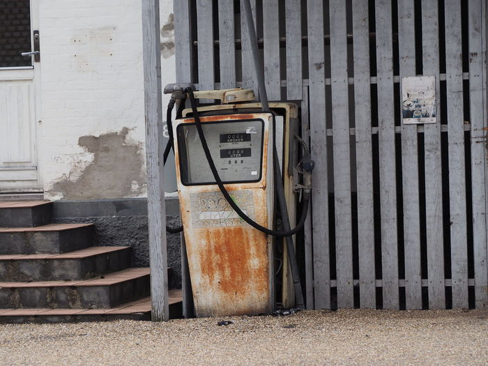 Abandoned Fuel Pump