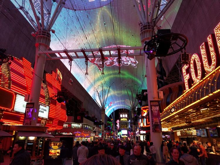 Illuminated Architecture Indoors  Large Group Of People City Night People Carnival Crowds And Details