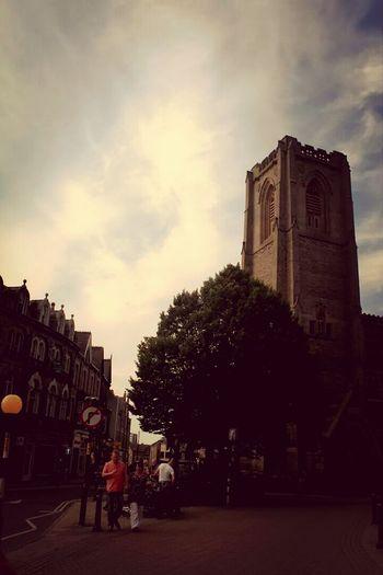 Church Beautiful Sky Town Centre