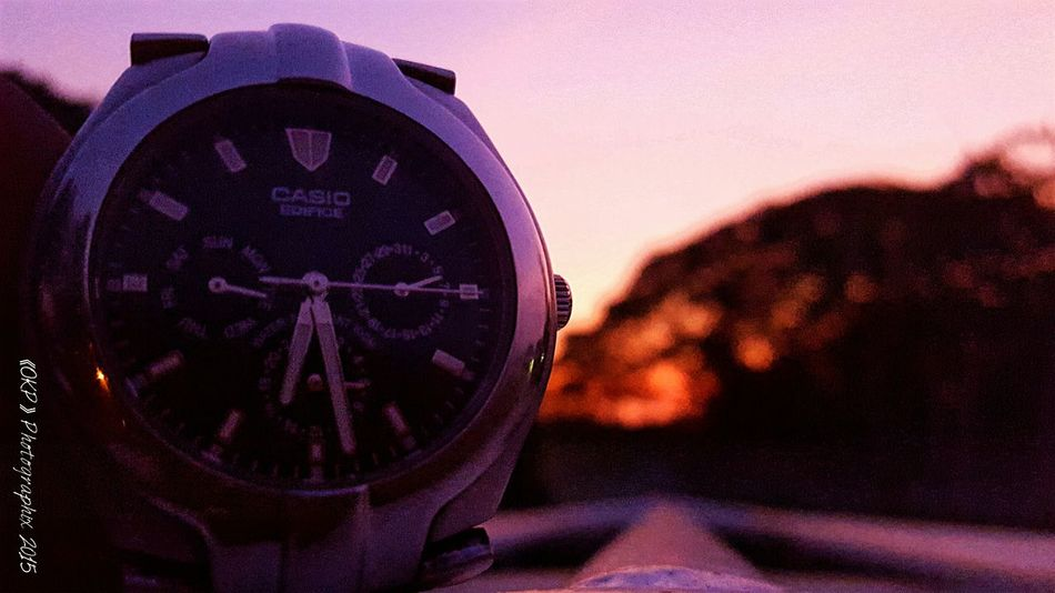 It's time... Sunsetchaser Port Moresby Papuanewguinea Amateurphotographer  Evening Sky Time Watch
