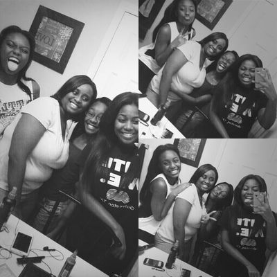 my sisters & our mom. ♥