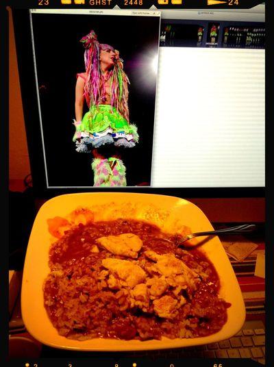 Lady Gaga Editing My Photos Dinner ARTRAVE THE ARTPOP BALL