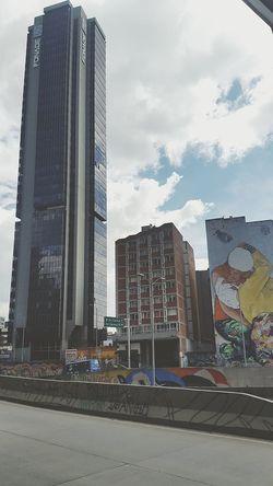Bogotá City Arteurbana Callesdebogota Cielo Rosa